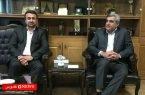 حسن محمدیاری و مصطفی سالاری دیدار کردند