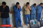 ۱۰ قمارباز در رضوانشهر دستگیر شدند