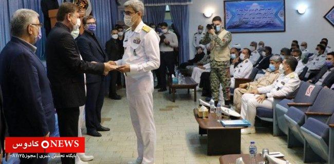 شعبانزاده به عنوان فرمانده آموزش تخصص های دریایی رشت منصوب شد