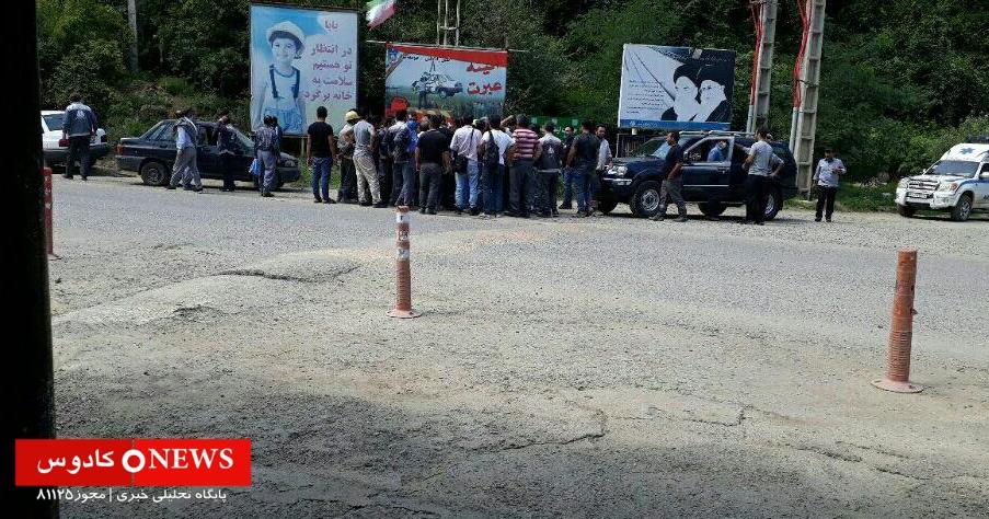 کارگران سد شفارود به دلیل تعویق ۵ ماهه حقوق اعتصاب کردند