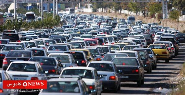 طی دو روز بیش از 160 هزار خودرو وارد گیلان شد!