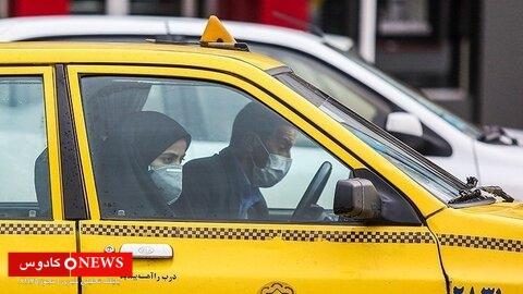 تاکسیرانان تالش به مسافران بدون ماسک خدمات نمیدهند
