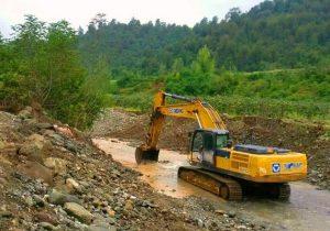 ابهام بزرگ در برداشت شن از رودخانه ماسال
