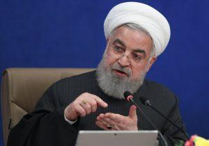 حسن روحانی: می توانیم گام به گام با امریکا به تعهدات باز گردیم
